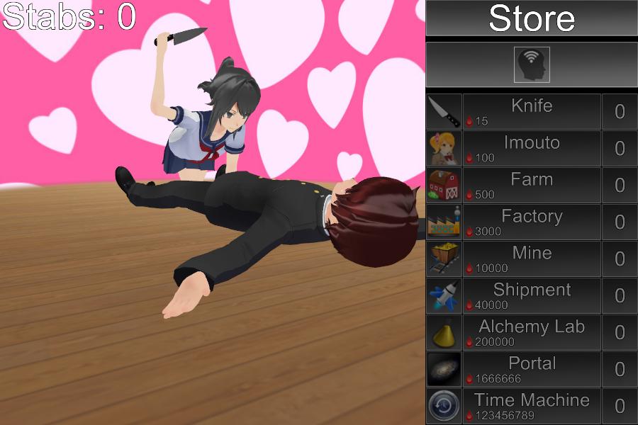 yandere simulator games for free